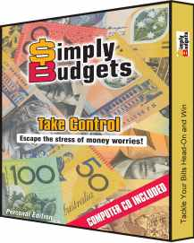 Simply Budgets Software cover